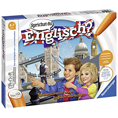Ravensburger tiptoi Do You Speak English? - 00786 / Learn Playful and Interactive English: Toys & Games [5Bkhe2006074]