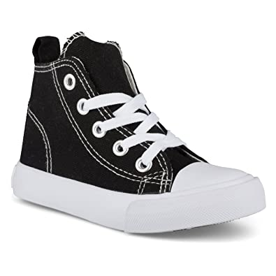 ca849238f88a1 ZOOGS Fashion High-Top Canvas Sneakers Girls Boys Youth, Toddlers & Kids
