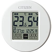 CITIZEN シチズン 温度計 湿度計 時計付き ライフナビプチA 8RD208-A03