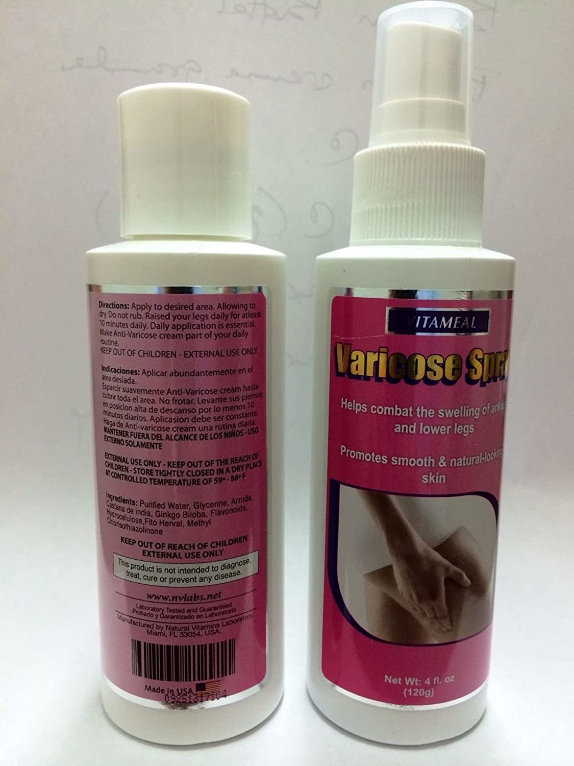 Amazon.com: Varicose Cream & Spray,circulation Varices: Health & Personal Care