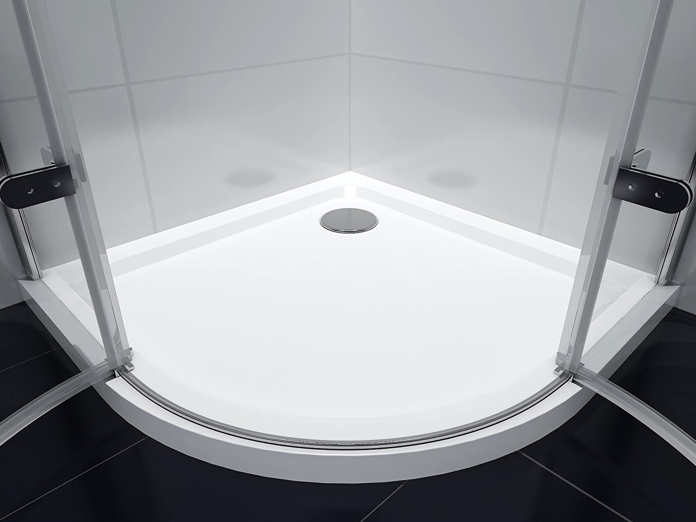 Cabina de ducha Cuadrante Mampara de ducha Virginia 90 x 90 x 190 ...