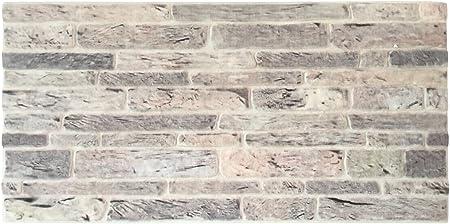 Plaquette De Parement En Polystyrene Pour Salon Cuisine Terrasse Chambre Decor Mural En Brique Pour Maison Ou Appartement 100cm X 50cm X 2cm Trendline Nature 25 Amazon Fr Bricolage