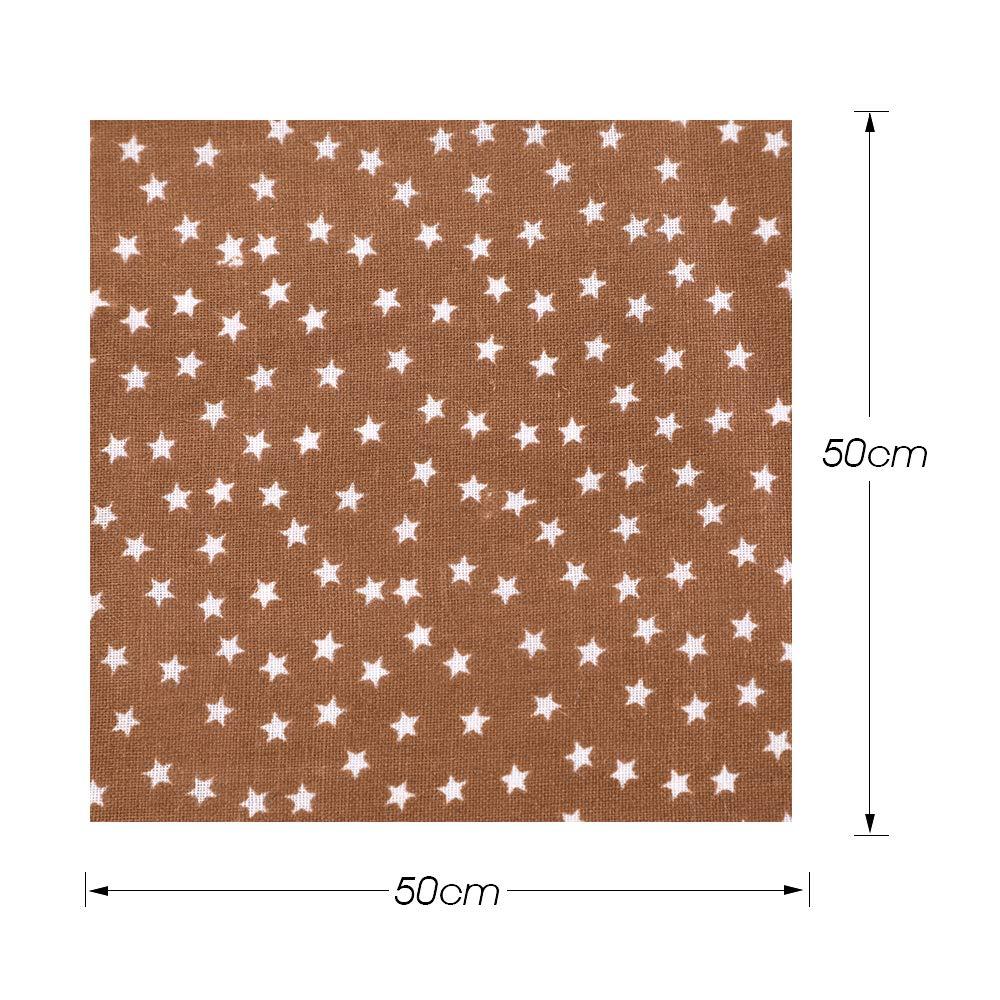 Blau MJARTORIA Baumwollstoff Meterware Reste Jersey Stoff zum N/ähen Stoffpaket Rosa 50cmx50cm