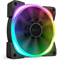 NZXT AER RGB 2-140mm - Advanced Lighting Customizations - Winglet Tips - Fluid Dynamic Bearing - LED RGB PWM Fan for Hue…