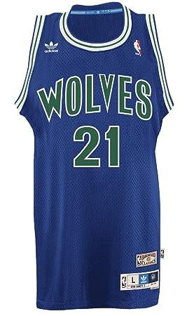 super popular a609c b0818 Kevin Garnett Minnesota Timberwolves Adidas Throwback ...