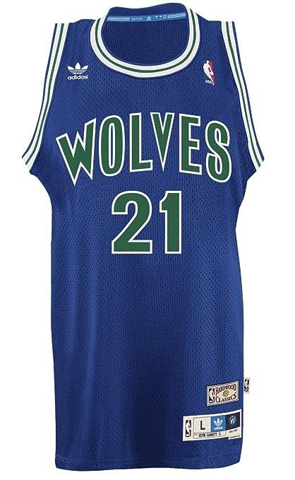 5ade71a517f Minnesota Timberwolves Kevin Garnett Soul Adidas Swingman Jersey (XXL)