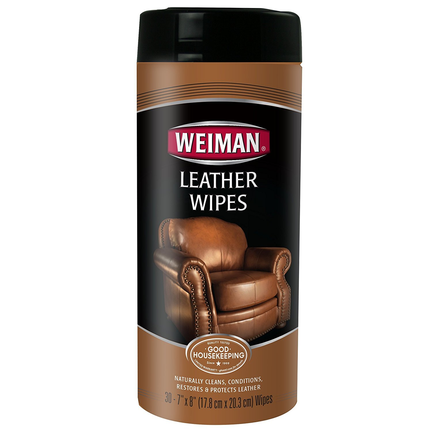 Weiman Leather Wipes, 30 Ct, 5 Pack