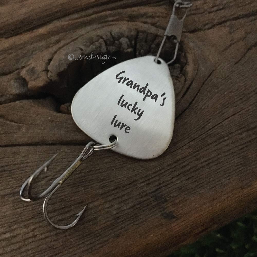 Gift For Grandpa Fishing Lucky Lure Grandpa Fishing Lure Grandpas ...
