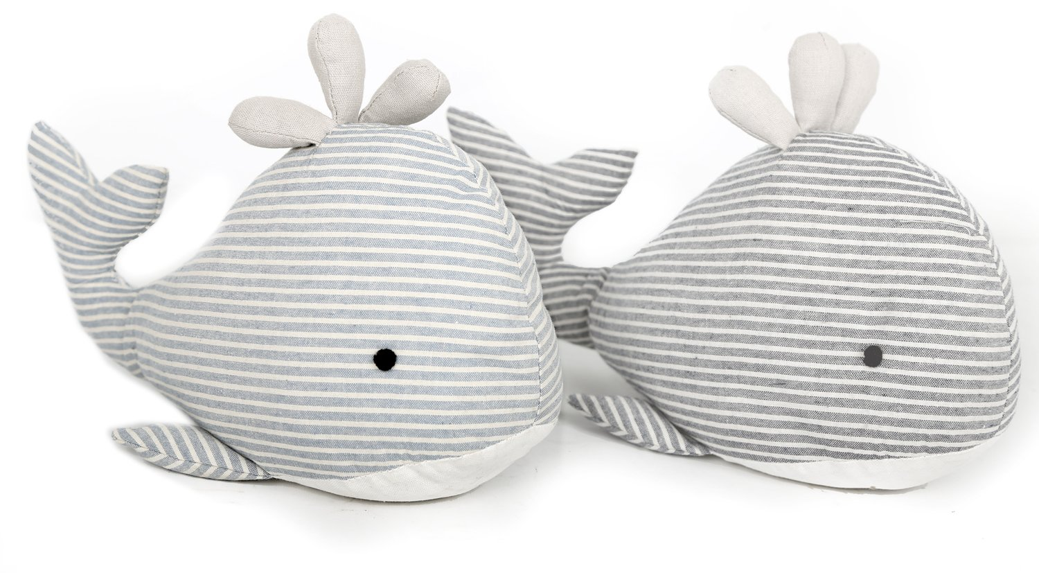 Carousel Home and Gifts Fabric Seashore Whale Doorstop ~ Nautical Animal Door Stop