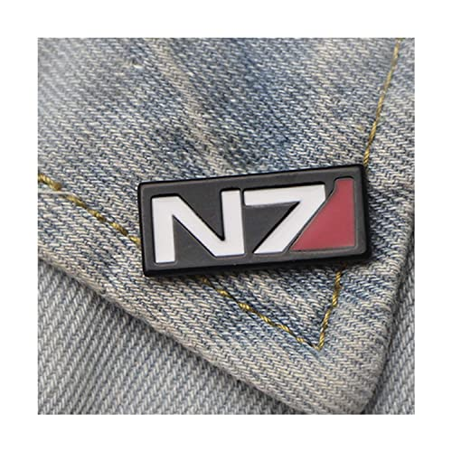 Amazon com: Mass Effect Pin Enamel Pins and Brooches Lapel Pin