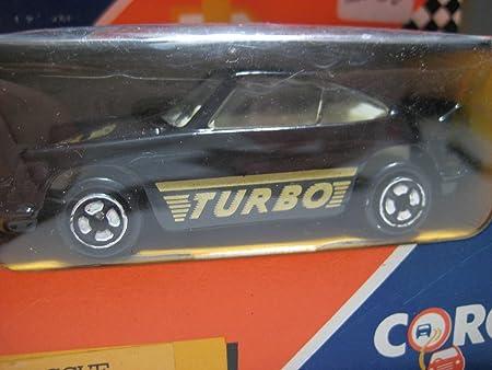 Amazon.com: Corgi Jr. (China) Black Porsche Carrera RS (Turbo) Diecast 1:55 NIB: Toys & Games