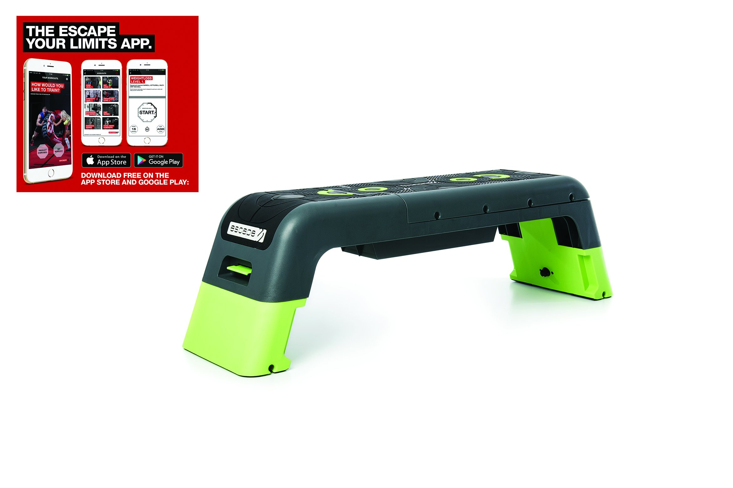 Escape Fitness Deck - Workout Bench and Fitness station by Escape Fitness USA (Image #2)