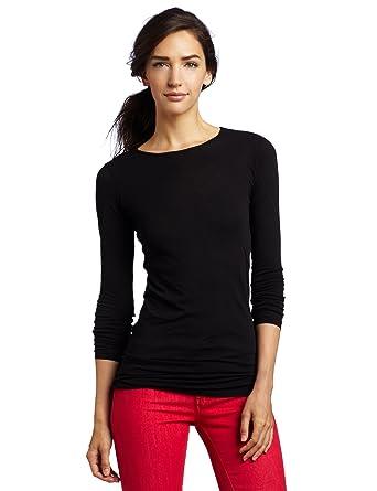0b440f94d54 LAmade Women's Crew-Neck Tunic T-Shirt at Amazon Women's Clothing ...