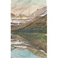 Notebook: Glacier National Park scenic views outdoor nature
