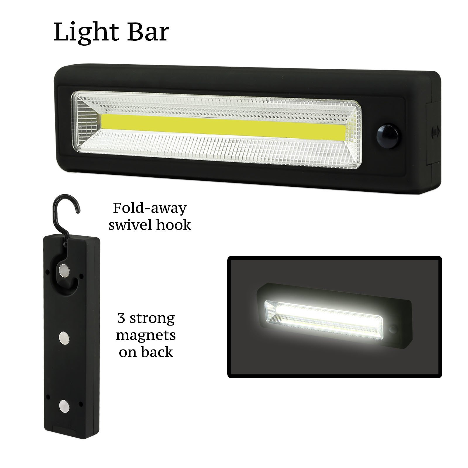 Ultra-Bright COB LED Worklights - Choose Pocket, Flex or Light Bar - Magnetic Base - Superior Light Broadcast