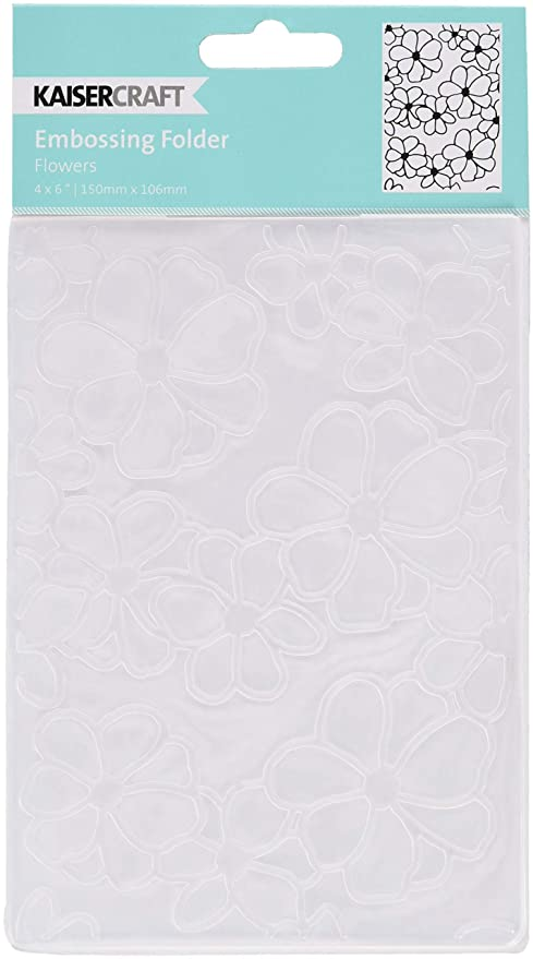 Small Flower 106mm*150mm Works with most die cutting machines Embossing Folder