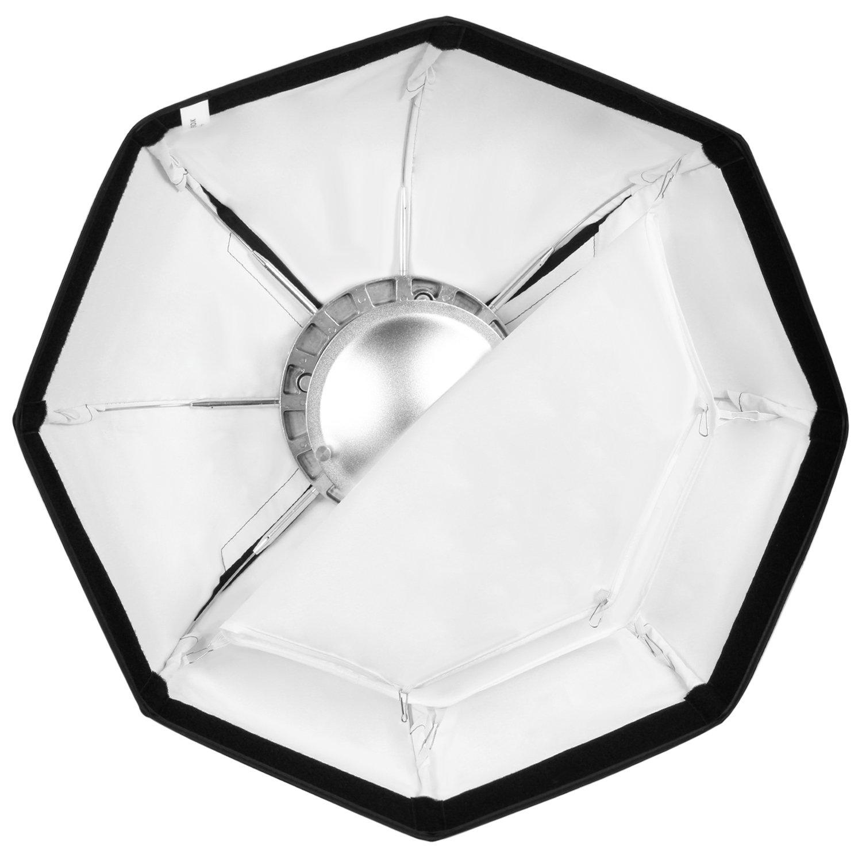 Neewer Combo Fotografico di Beauty Dish /& Softbox Ottagonale 60cm con Attacco Bowens Perfetto per Ritratti Fotografia di Prodotti e Registrazioni Video