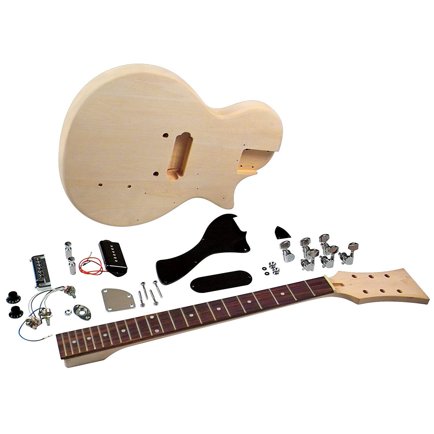 amazon com saga lj 10 student electric guitar kit single cutaway rh amazon com