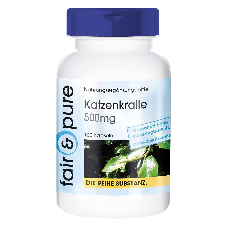 Uña de gato 500 mg – 120 cápsulas