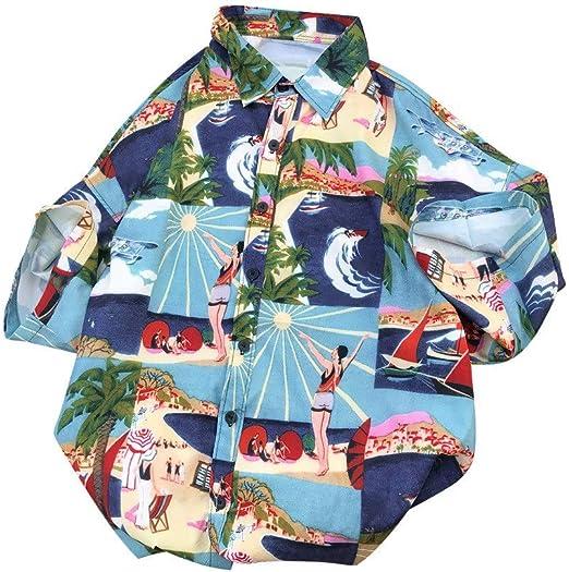 Camisas para hombre Camisa hawaiana de verano for hombre Camisa de manga corta Fiesta en la