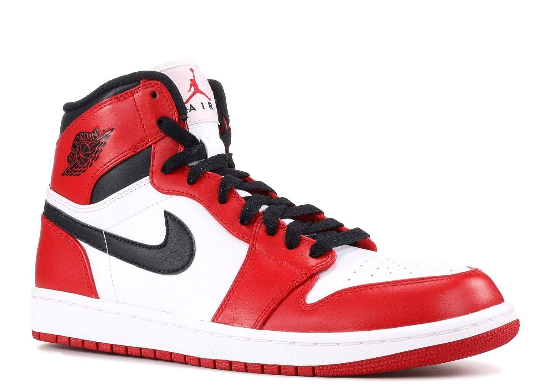 save off 12b5f 29936 Air Jordan 1 Retro (OG) White/Varsity Red-Black