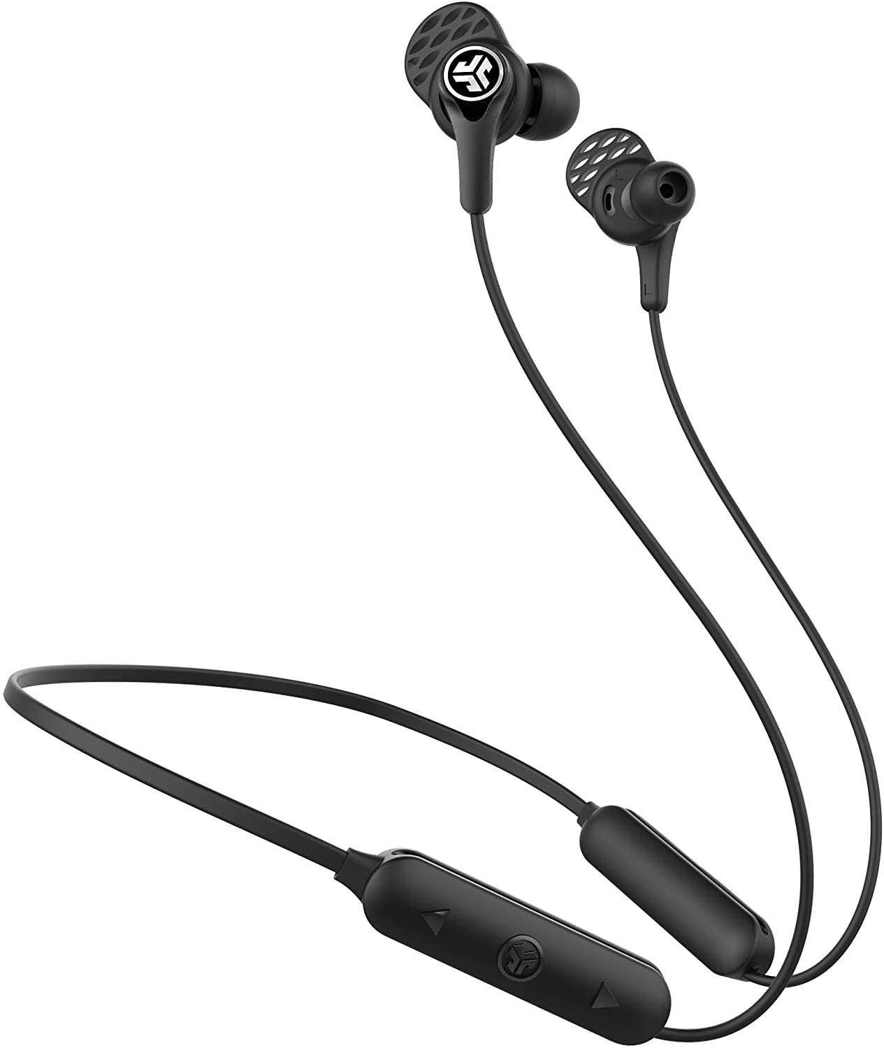 JLab Audio Epic Executive Wireless Active Noise Canceling Earbuds   Bluetooth 4.1   11-Hour Battery Life   Universal Music Control   Bluetooth Headphones, Travel Case Included   Black