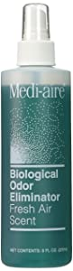 Bard 577018A Medi Aire Fresh Air Scent Biological Odor Eliminator 8 Ounce. Refill Bottle by Bard Medical