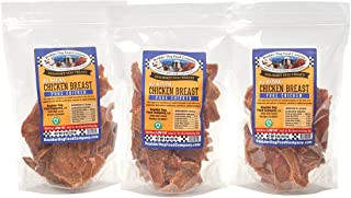 product image for Chicken Breast Strips, 8 oz: Chicken Jerky Dog Treats - Grain Free Dog Treats - Healthy Dog Treats - Natural Dog Treats - Dog Treats Made in USA Only (3 Bags)