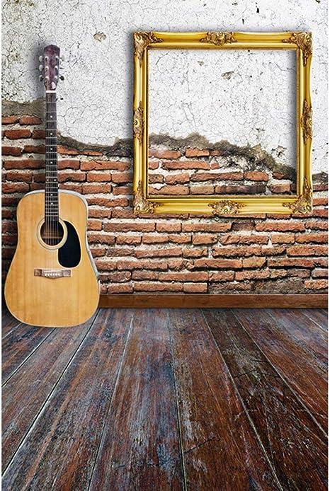 Leyiyi - Fondo para guitarra de 3 x 5 pies, para fotografía de ...