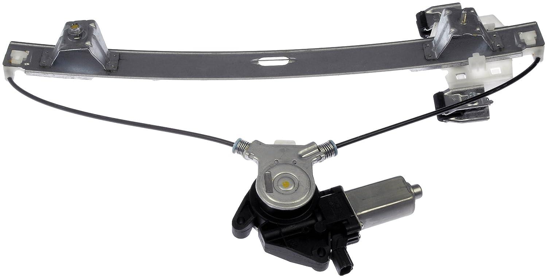 Amazon Com Dorman   Ford F  Rear Driver Side Power Window Regulator With Motor Automotive