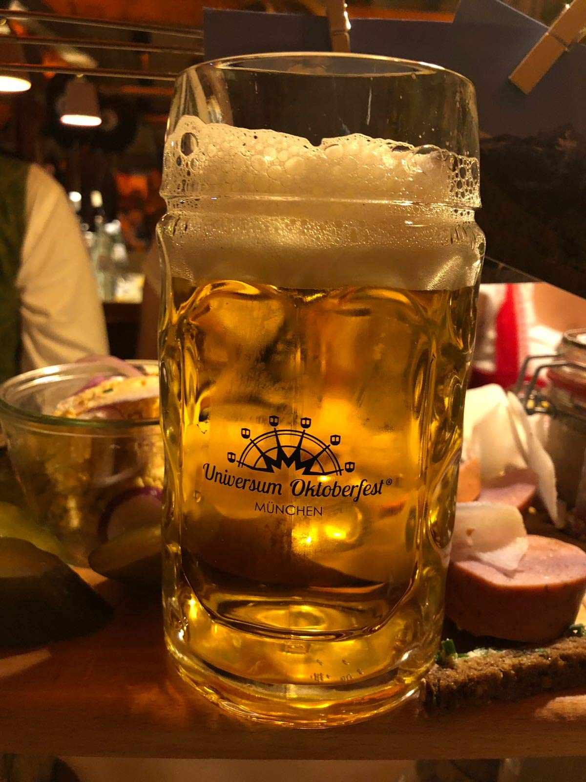 Universum Oktoberfest Beer Mug Munich Cup, Made in Germany (0,3Liter / 10.1fl oz)