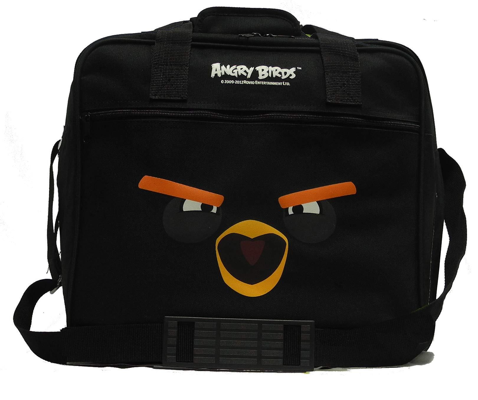 Ebonite Angry Birds Single Ball Deluxe Bowling Bag (Black Bomb Bird)
