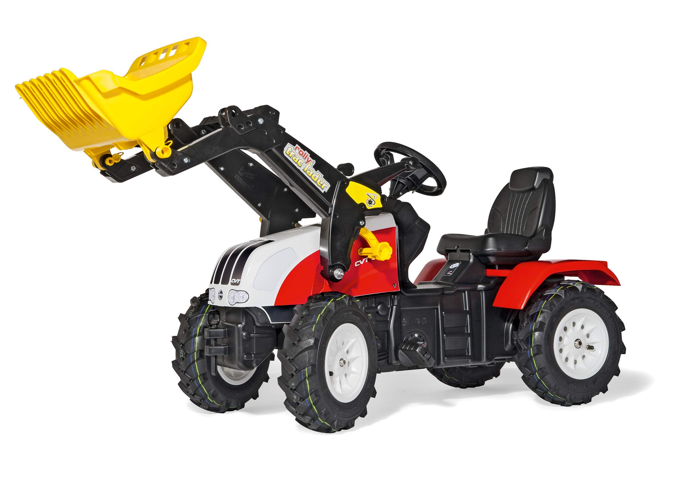 rolly toys 46331 Franz Cutter Steyr CVT 6225 Pedal Tractor by rolly toys (Image #1)