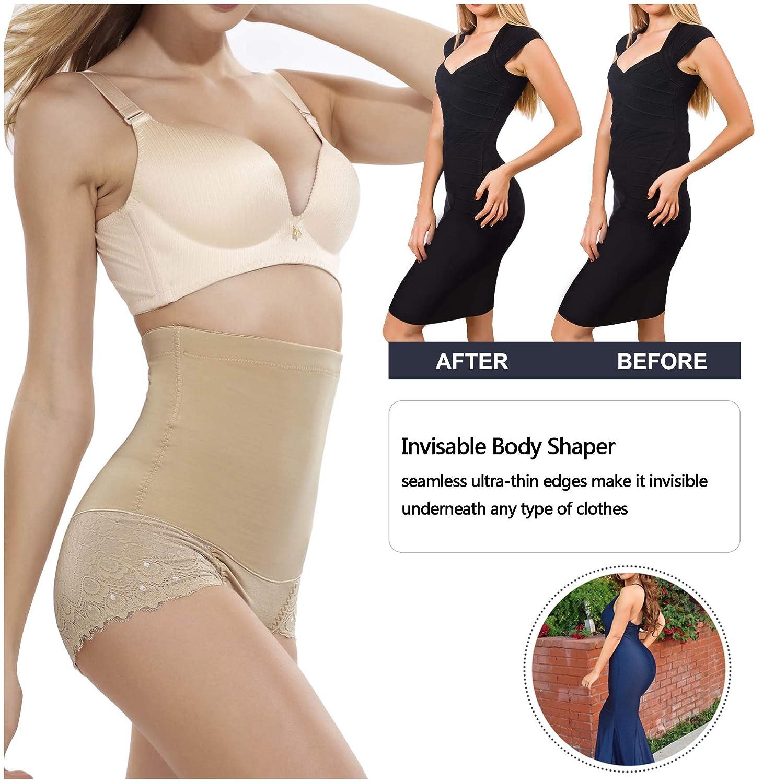 10b914c036a Gotoly Women Body Shaper High Waist Butt Lifter Tummy Control Panty Slim  Waist Trainer at Amazon Women s Clothing store