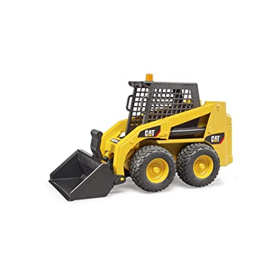 Bruder 02482 Caterpillar Skid Steer Loader: Toys & Games