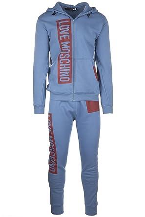 quality design 28050 6cec3 Love Moschino Tuta Uomo Completo Maglia Pantalone Fashion ...