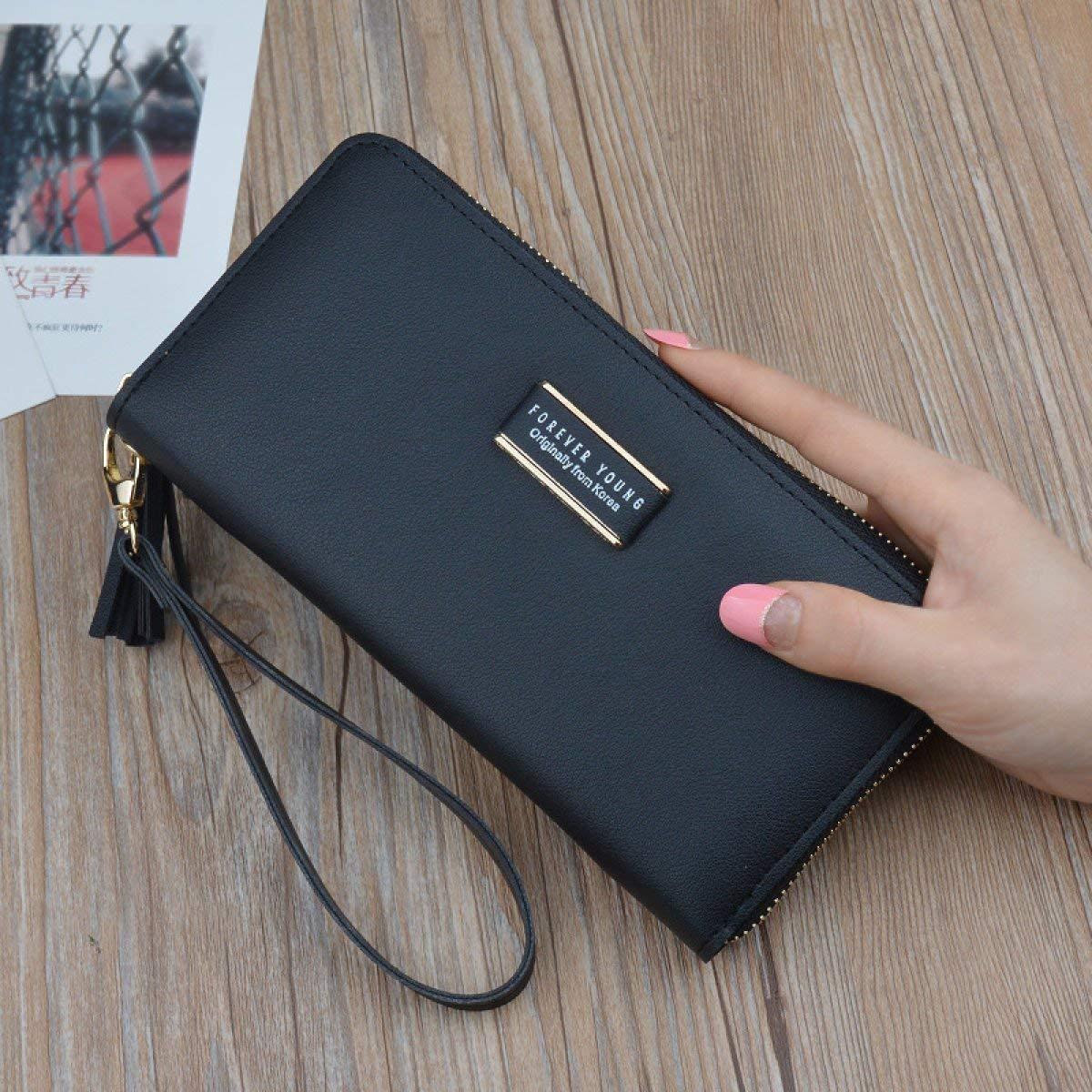Prom Geldbörse, New Wallet Wallet Multifunktions-Wallet Clutch Bag Zipper Einfache Kartensteckplatz Lange Frauen Geldbörse (Farbe   E) B07PR9KM4G Geldbrsen