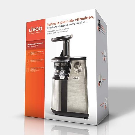 Domoclip Premium 102DOP - Procesador de fruta y verdura, color ...