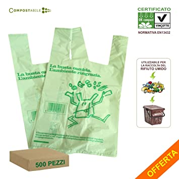 Lindaplast - Bolsas compostables biodegradable - Conforme a ...