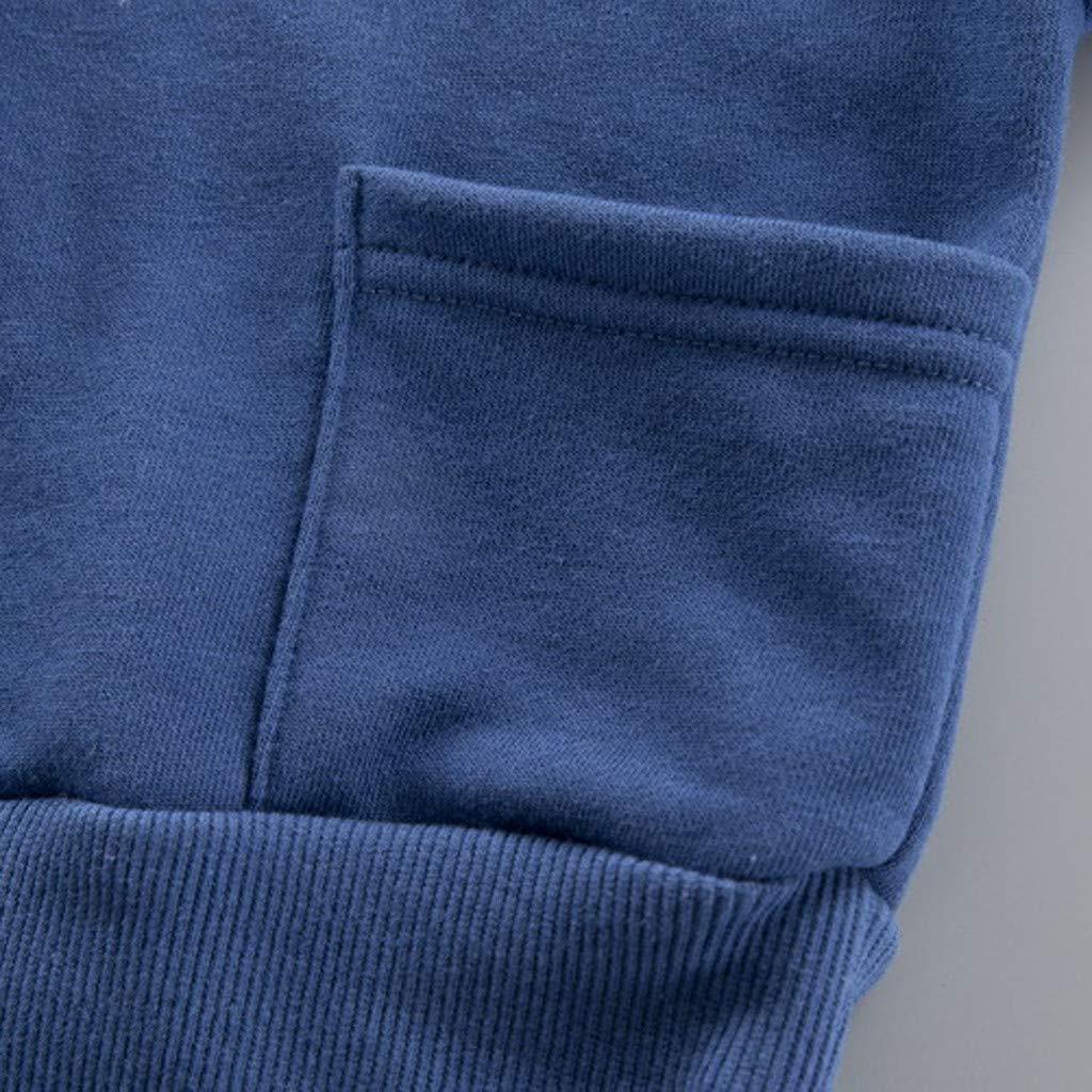 Pantalones Moda Casual Comodo Ropa para Ni/ñOs Sudaderas De Deporte YWLINK Conjuntos Deportivos Ni/ñOs Ni/ñA Sudadera con Capucha Camiseta Tops Su/éTer Jersey Bebe Ni/ñO