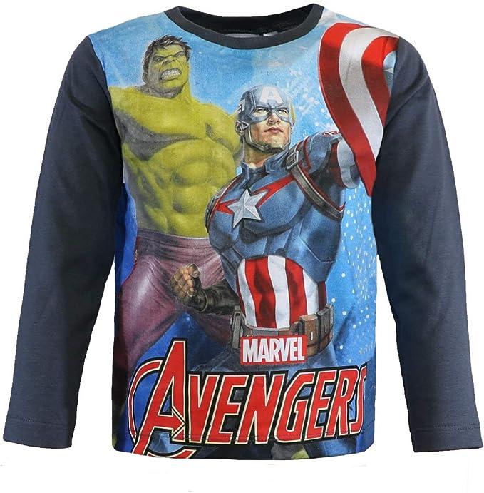 Camiseta Manga Larga Los Vengadores Avengers T.4: Amazon.es: Ropa ...