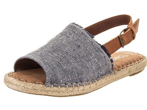 TOMS 10011827, Alpargatas para Mujer, Azul (Navy 000), 37 EU: Amazon.es: Zapatos y complementos