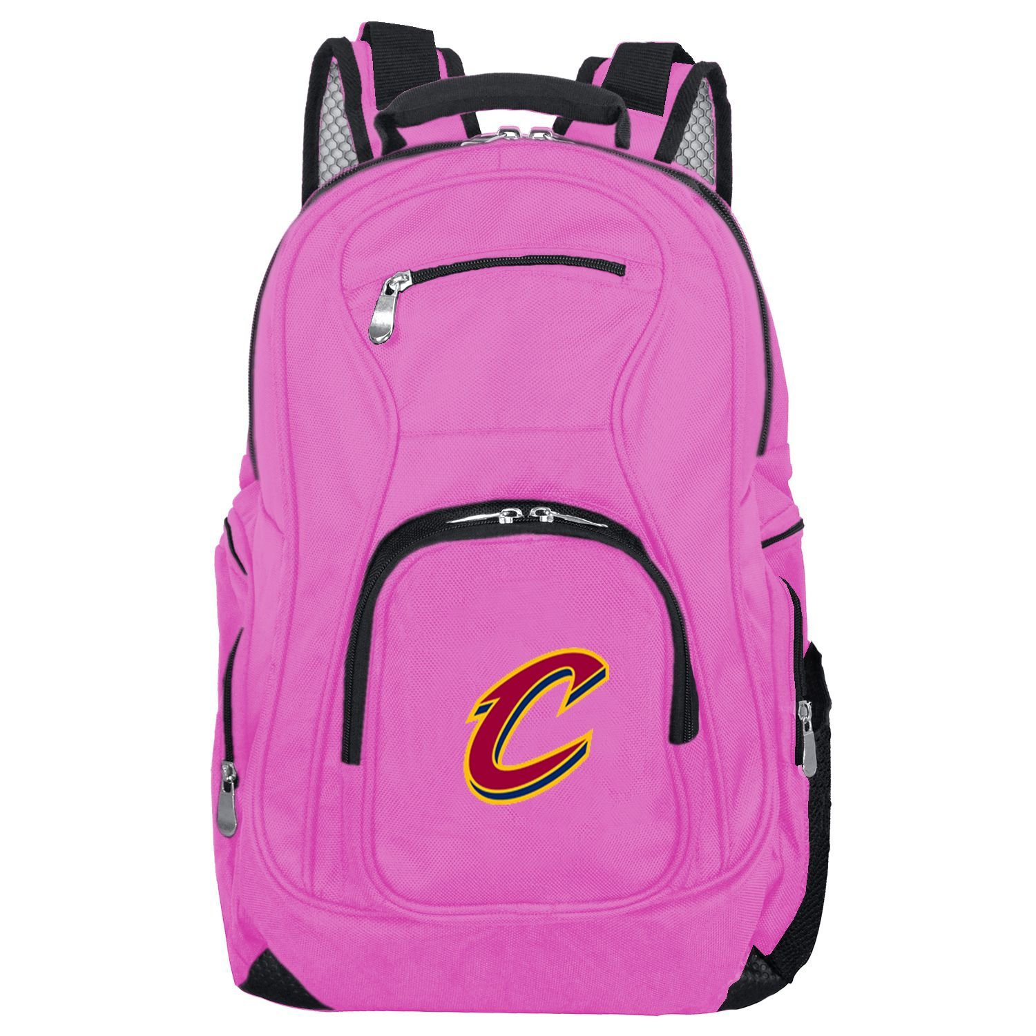 NBA Cleveland Cavaliers Voyager Laptop Backpack, 19-inches, Pink