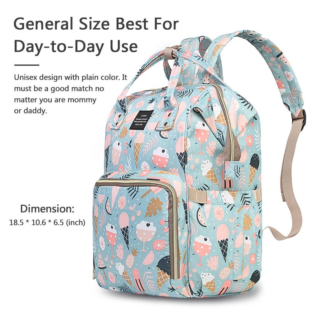 Amazon.com: HaloVa - Bolsa para pañales, mochila para ...