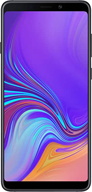 Samsung Galaxy A9 (2018) Dual-SIM SM-A920FZ 128GB Factory Unlocked 4G Smartphone - International Version (Caviar Black)