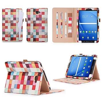 the best attitude ee2c6 72c6a Samsung Galaxy Tab A6 10.1 Case,VOVIPO Premium Leather: Amazon.co.uk ...
