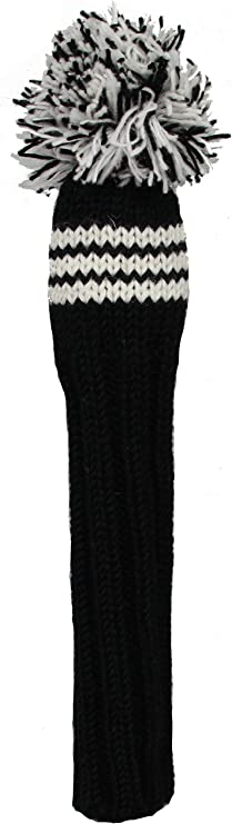 Amazon Com Sunfish Fairway Headcover Black White Golf Club Head Covers Sports Outdoors