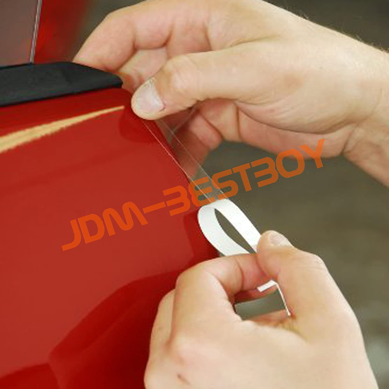 0.6 Width Wide FREE TOOL KIT 120 Genuine 3M Clear Scotchgard Car Paint Protector Door Edge Guard Scratch Sealing Trim 10FT