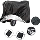 ConPus Mobility Scooter Storage Cover, Wheelchair Cover Waterproof for Travel Lightweight Electric Chair Cover Rain Protector