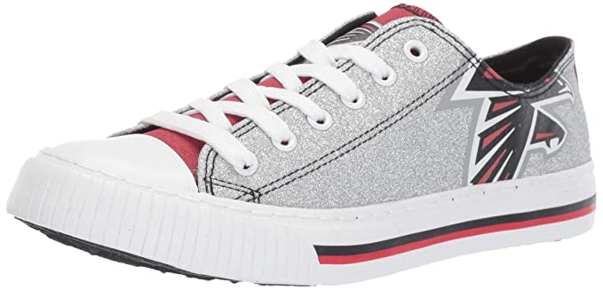 92175f79 NFL Womens Ladies Glitter Low Top Canvas Sneaker Shoes